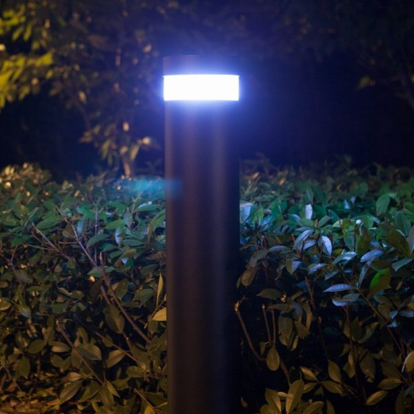 Litecharga Solar Bollard Illuminated