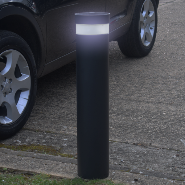 Illuminated Litecharga Solar Bollard