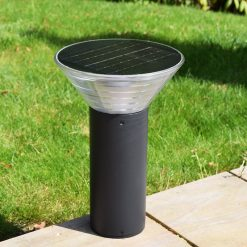 Olympia Solar Pedestal Light in situ