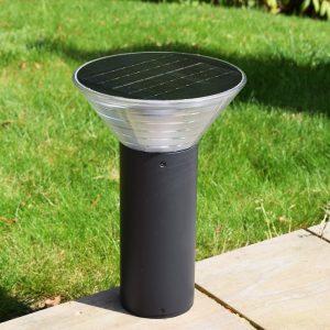 Olympia Solar Pedestal Light in situ