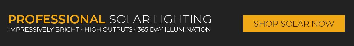 Professional Solar LED Lighitng
