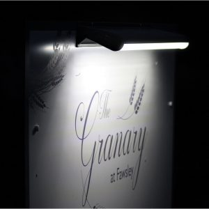 Solar Sign Light - The Granary