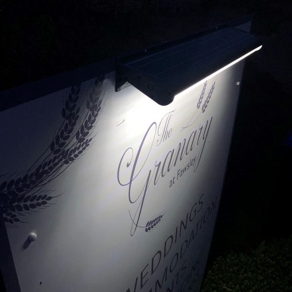 Signalite - Granary Sign Lit Up