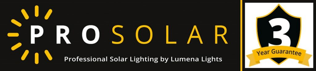 3 Year Guarantee - Pro Solar Lighting