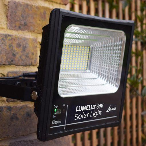 Lumelux 60w Solar Flood Light