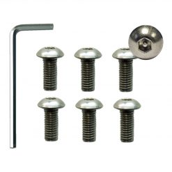 Pin Hex Security Screw Kit 6pk for Pro-Solarsolar