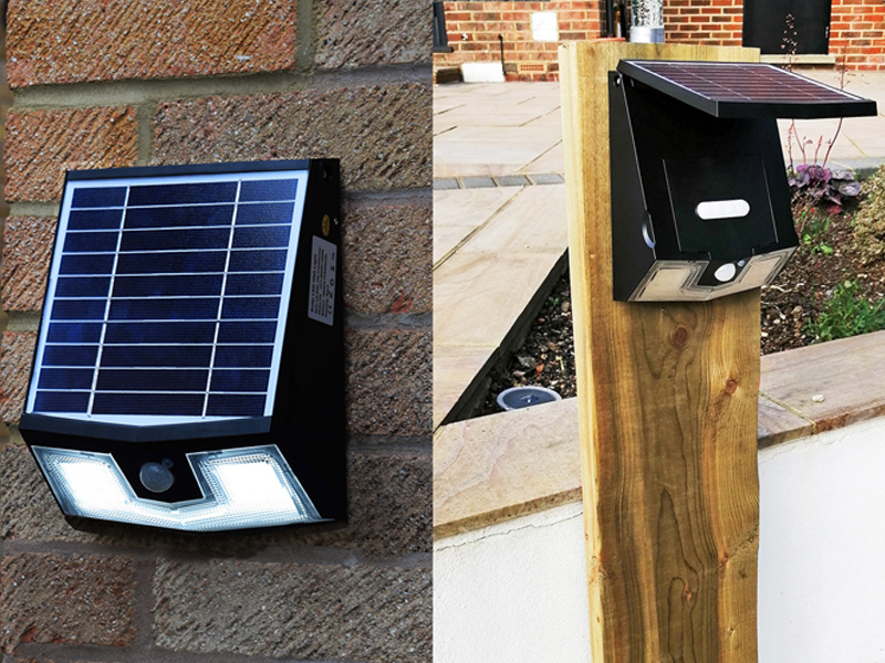 Solar Lighting - Timber and Technology