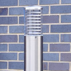 Stainless Steel Bollards and Path Lights