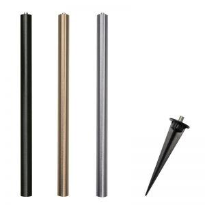 Alvaled 40cm riser pole & ground spike