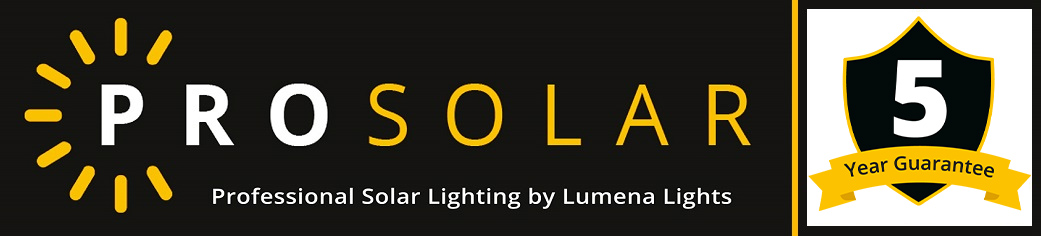 5 Year Guarantee - Pro Solar Lighting