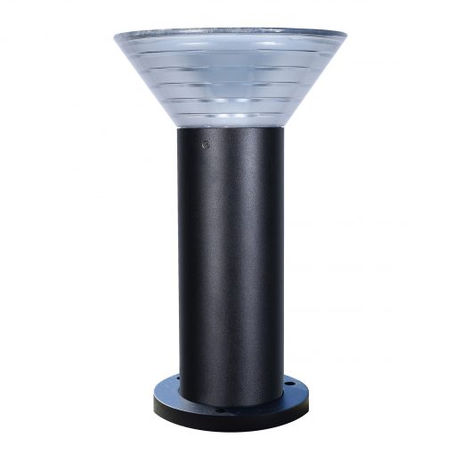 Solar pedestal light