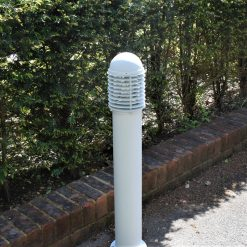 white path light with louvres