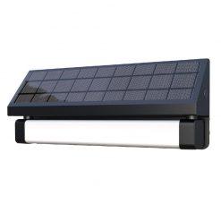Alerta Microwave Motion Sensor Solar Light - Wall Mounted