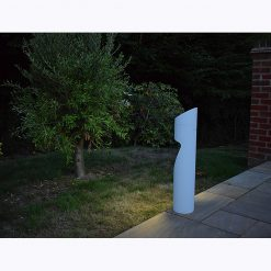 Eccentrica white solar path light
