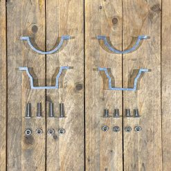 All components of Lumelux Pole Brackets