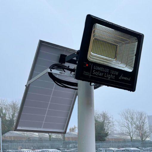Lumelux Solar Street Light - 76mm pole