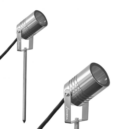 gu10 stainless steel spike light