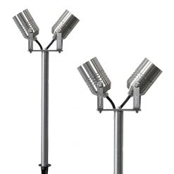 Twin Outdoor Spike Lights