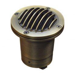 Charleston Guardlite - 12v Brass Recessed Light - Plug and Play (IP68)