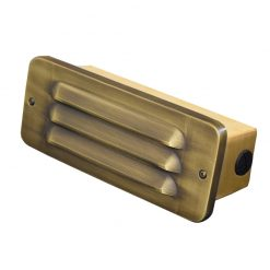 Charleston Bricklight Slatted 240v - Brass